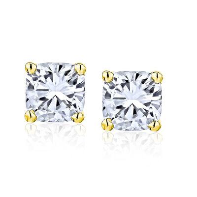 .70 ct. t.w. Diamond Stud Earrings in 14kt Yellow Gold, , default