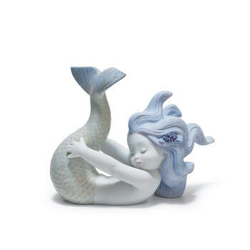 "Lladro ""Playing at Sea"" Porcelain Figurine , , default"