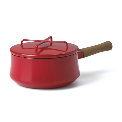 "Dansk ""Kobenstyle"" Chili Red Saucepan with Lid, , default"