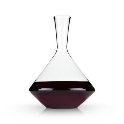 Angled Crystal Wine Decanter
