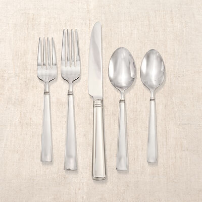 "Reed & Barton ""Perspective"" 65-pc. Service for 12 Stainless Steel Flatware, , default"