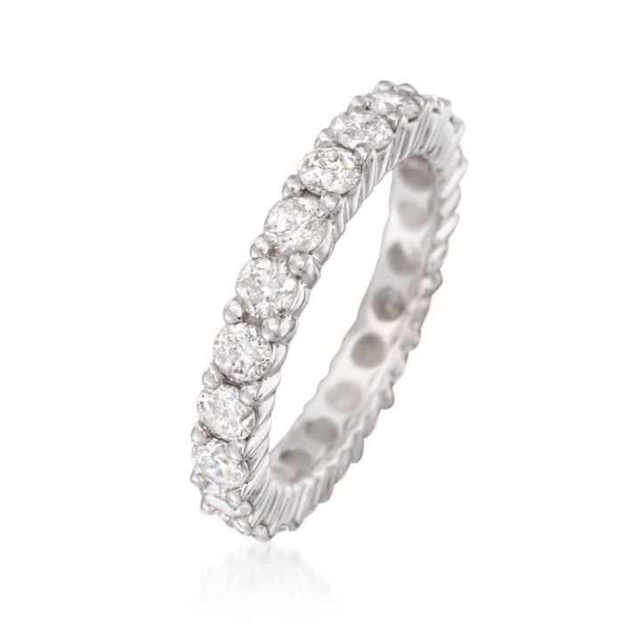 2.50 ct. t.w. Diamond Eternity Band in 14kt White Gold