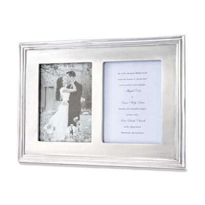 Mariposa Classic 5x7 Double Photo Frame, , default