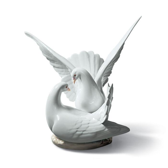 "Lladro ""Love Nest"" Porcelain Figurine, , default"