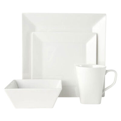 "Mikasa ""Delray Square"" 16-pc. Service for 4 Dinnerware Set, , default"