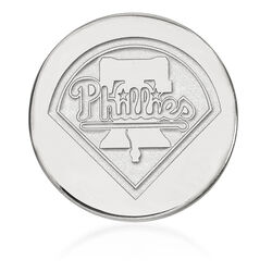 Sterling Silver Mlb Philadelphia Phillies Lapel Pin, , default