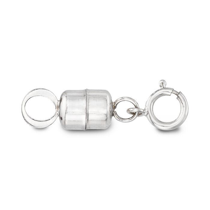 Italian 14kt White Gold Magnetic Clasp Converter