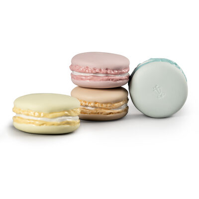 "Lladro ""Macarons"" Porcelain Figurines"