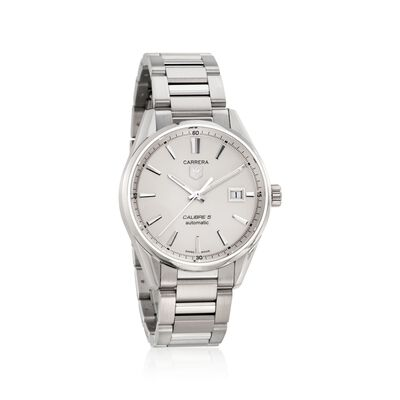 TAG Heuer Carrera Men's 39mm Stainless Steel Watch