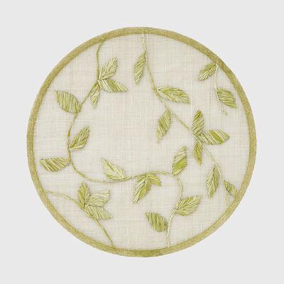 Joanna Buchanan Citrus Leaf Straw Placemat