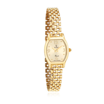 Italian Vicence Women's 18mm 14kt Yellow Gold Watch, , default