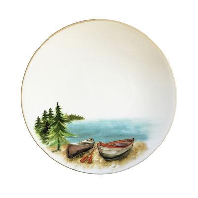 Abbiamo Tutto Italian a Day at the Lake Ceramic Dinnerware, , default