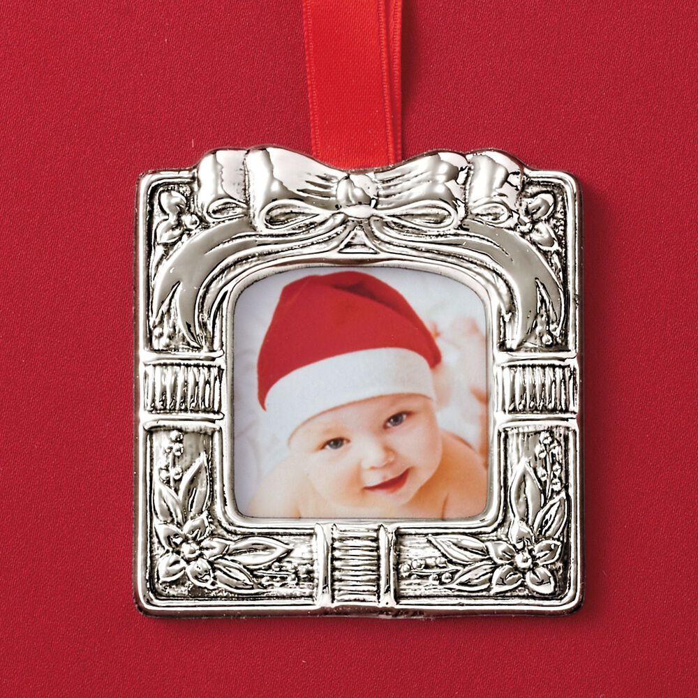 Reed Barton Italian 2018 Annual Sterling Silver Photo Frame
