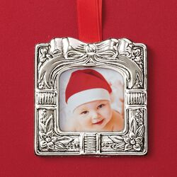 Reed & Barton Italian 2018 Annual Sterling Silver Photo Frame Ornament - 11th Edition, , default