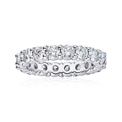 4.55 ct. t.w. Diamond Wedding Eternity Band in 14kt White Gold, , default