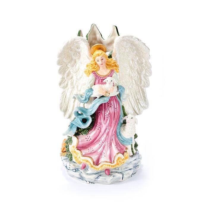 "Fitz and Floyd ""White House"" Christmas Angel Vase, , default"
