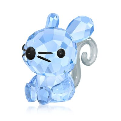 "Swarovski Crystal ""Charming Rat - Chinese Zodiac"" Crystal Figurine, , default"