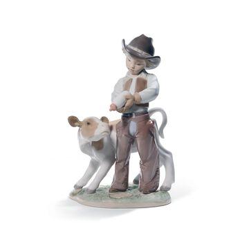 """Lladro """"Cowboy"""" Porcelain Figurine, , default"""
