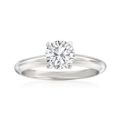 .90 Carat Diamond Ring in 14kt White Gold