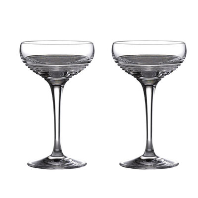 "Waterford Crystal ""Mixology Mixed"" Set of 4 Small Coupe Glasses, , default"