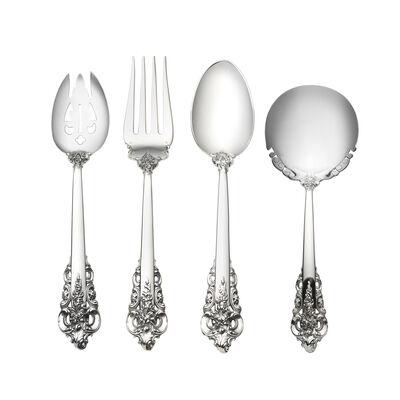 """Wallace """"Grande Baroque"""" Sterling Silver Serveware"""