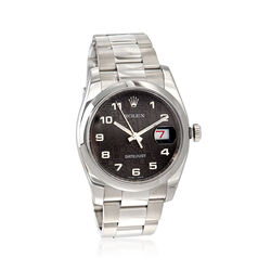 Certified Pre-Owned Rolex Datejust Men's 36mm Automatic Watch in Stainless Steel, , default