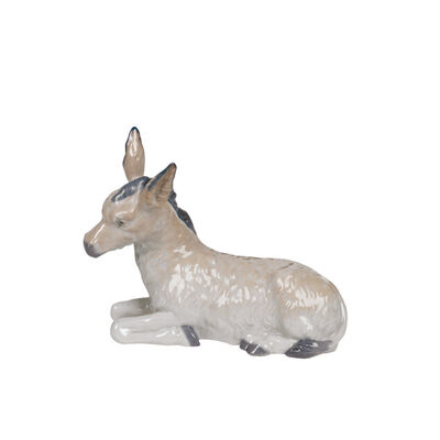 "Nao ""Nativity Donkey"" Porcelain Figurine, , default"