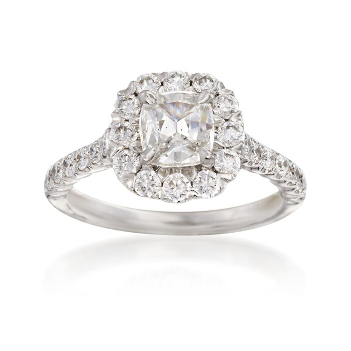 Henri Daussi 1.90 ct. t.w. Certified Diamond Engagement Ring in 18kt White Gold, , default