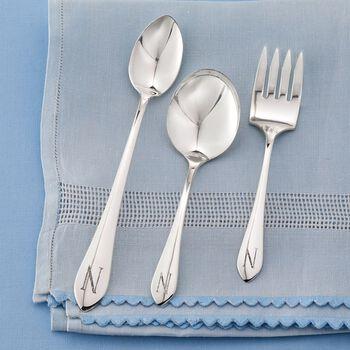Sterling Silver Baby Feeding Set, , default