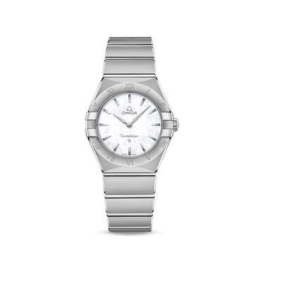 Omega Constellation Women's 28mm Stainless Steel Watch