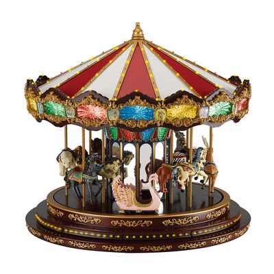 Mr. Christmas Marquee Deluxe Carousel, , default