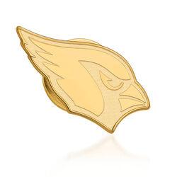 14kt Yellow Gold NFL Arizona Cardinals Lapel Pin, , default