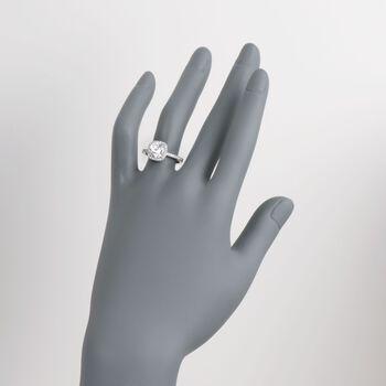 Simon G. .30 ct. t.w. Diamond Engagement Ring Setting in 18kt White Gold, , default