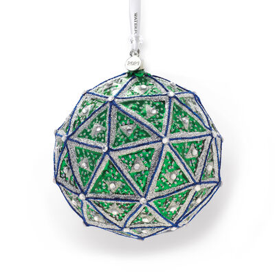 Waterford 2021 Times Square Replica Ball Glass Ornament