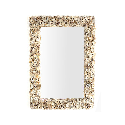 Oyster Bay Shell Wall Mirror, , default