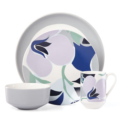 "Kate Spade New York ""Nolita"" Blue Floral 4-pc. Place Setting"