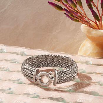 Italian Sterling Silver Riso Bracelet, , default