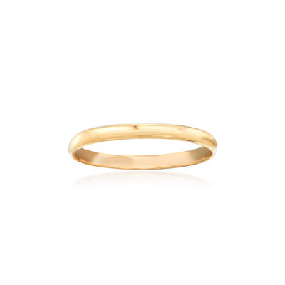 Baby's 14kt Yellow Gold Band Ring, , default