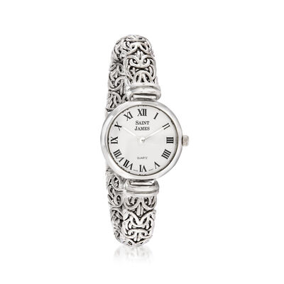 Saint James Women's 22mm Byzantine Watch in Sterling Silver, , default