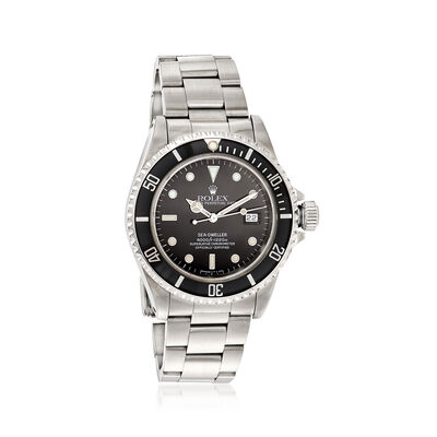 Pre-Owned Rolex Sea-Dweller Men's 40mm Automatic Watch in Stainless Steel, , default