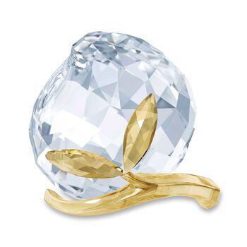 Swarovski Crystal Golden and Clear Crystal Peach Figurine., , default