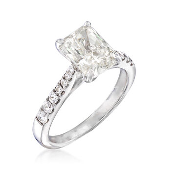 Majestic Collection 2.51 ct. t.w. Diamond Ring in 14kt White Gold