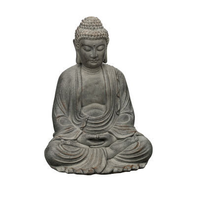 """Buddha"" Decorative Garden Statue, , default"
