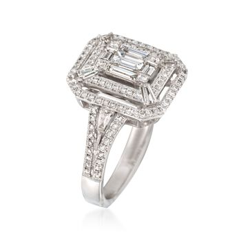 C. 2014 Simon G. .98 ct. t.w. Diamond Ring in 18kt White Gold, , default