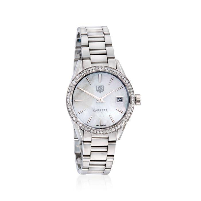 TAG Heuer Carrera Women's 32mm .62 ct. t.w. Diamond Watch in Stainless Steel