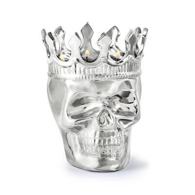 "Thompson Ferrier ""Monte Cristo Aroma Maximilien"" Skull Candle, , default"