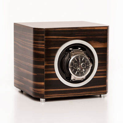 Brouk & Co. Matte Ebony Wooden Watch Winder, , default
