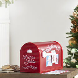 Santa's Enchanted Mailbox by Mr. Christmas, , default