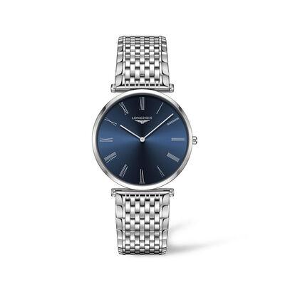 Longines La Grande Classique Men's 36mm Automatic Stainless Steel Watch