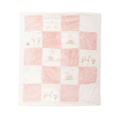 "Bunnies by the Bay ""Blossom Bunny"" Tutu Quilt, , default"